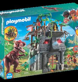 Playmobil 9429 Campement des explorateurs avec tyrannosaure