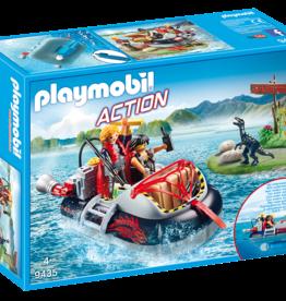 Playmobil 9435 Aéroglisseur et moteur submersible