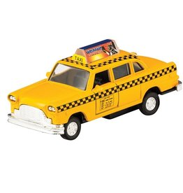 Schylling Taxi - die-cast pull back