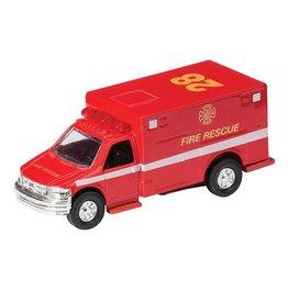 Schylling Ambulance à friction - die-cast