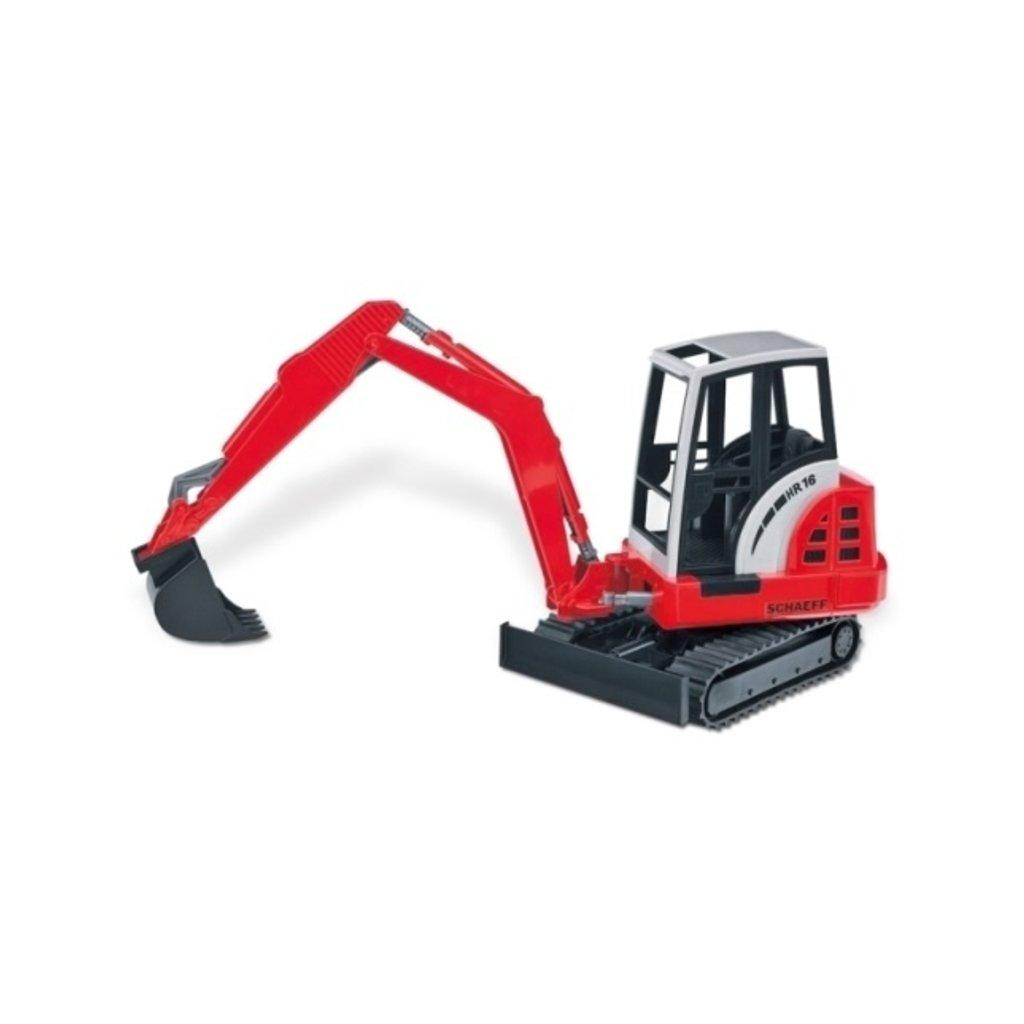 Bruder 02432 Schaeff mini excavator HR 16