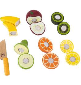 Hape Ensemble de fruits en bois à découper