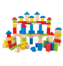 Hape Blocs à construire 100 pcs