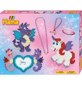 Hama Licornes et hippocampes 4000 pcs