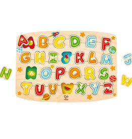 Hape Puzzle à Boutons lettres
