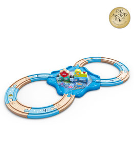 Hape Circuit de train sous-marin en 8