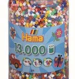 Hama 13000 perles en pot