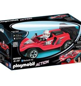 Playmobil Action 9090 Voiture de course rouge radiocommandée