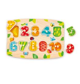 Hape Puzzle à Boutons Chiffres