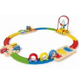 Hape Train musical arc-en-ciel