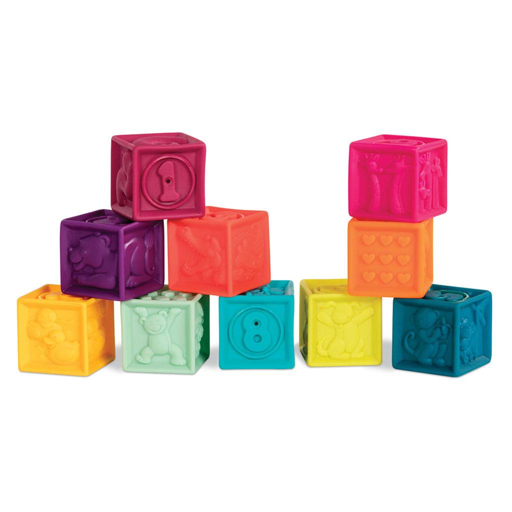 Battat Toys B.baby - Blocs souples
