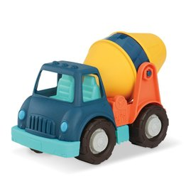 Battat Toys Wonder Wheels- camion de bétonnière