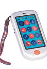 Battat Toys Téléphone tactile Hiphone Argent