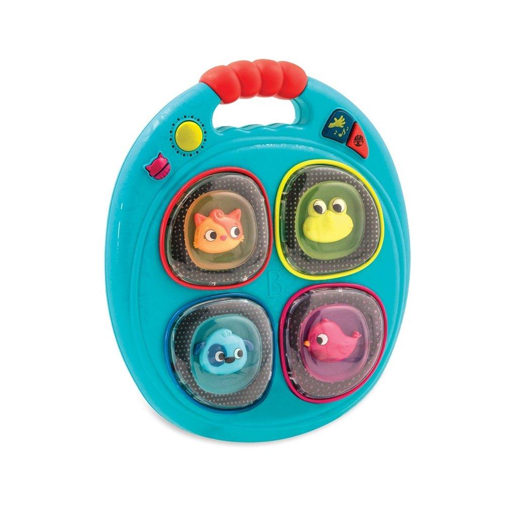 Battat Toys B.Musical- portable lumières et sons (anglais)