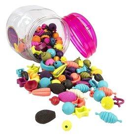 Battat Toys Seau de perles 150 pièces