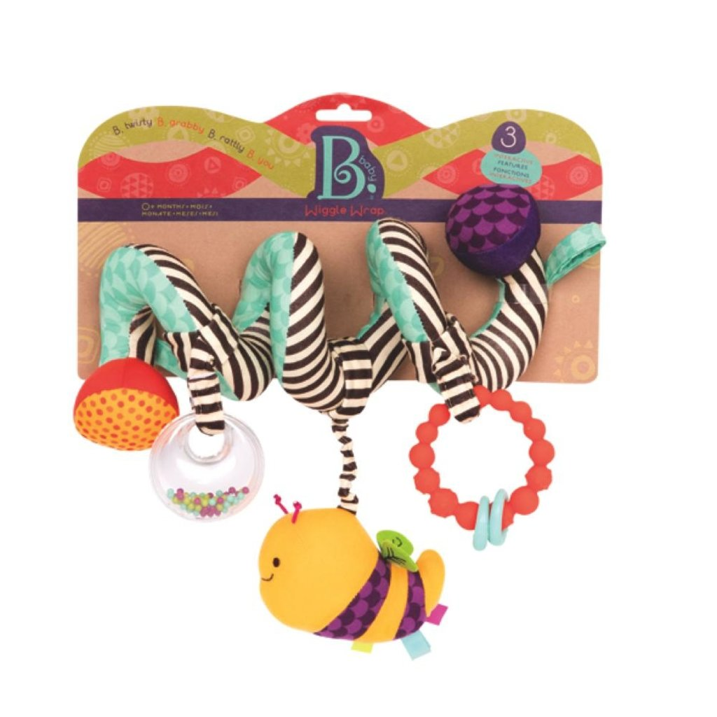 Battat Toys Spirale d'activités Wiggle wrap''