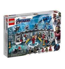 "Lego Marvel Super Heroes 76125 - La salle des armures d""Iron Man"
