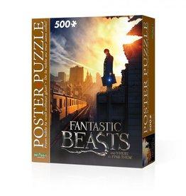 Wrebbit Casse-tête Fantastic Beasts New York 500 pcs