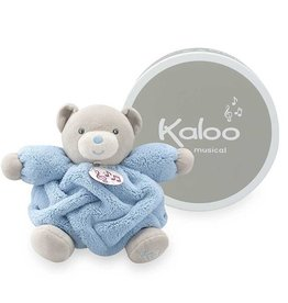Kaloo Plume p'tit ourson bleu ciel musical