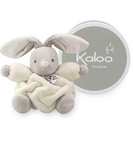 Kaloo Plume p'tit lapin crème musical