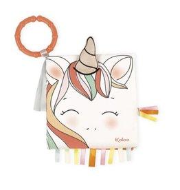 Kaloo Livres d'activité  la licorne heureuse