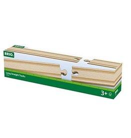 Brio Rails droits longs - 216 mm