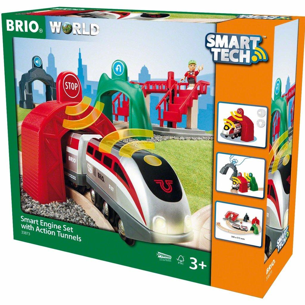 Brio Circuit de voyageurs & locomotive intelligente