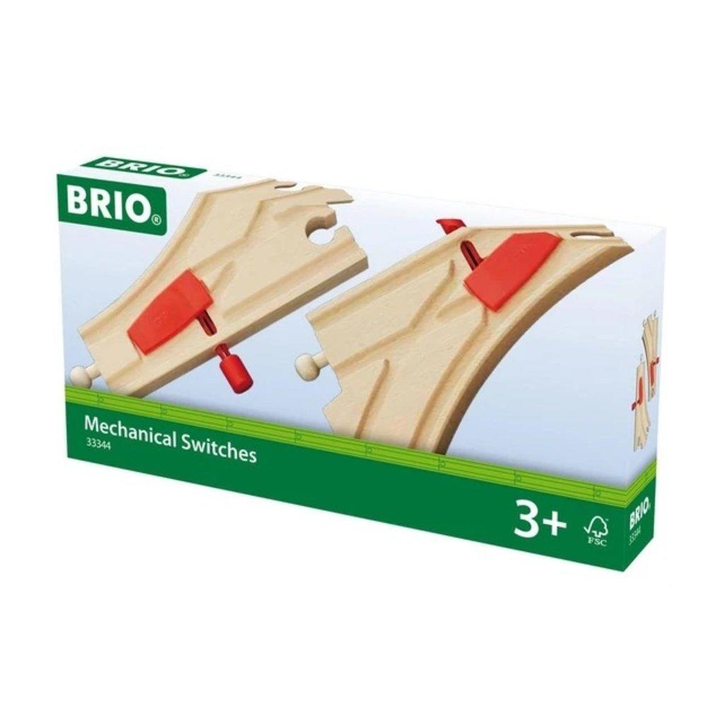 Brio Aiguillages mécaniques - 144 mm