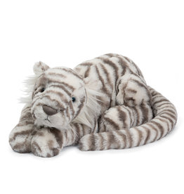 Jellycat Sacha tigre des neiges large