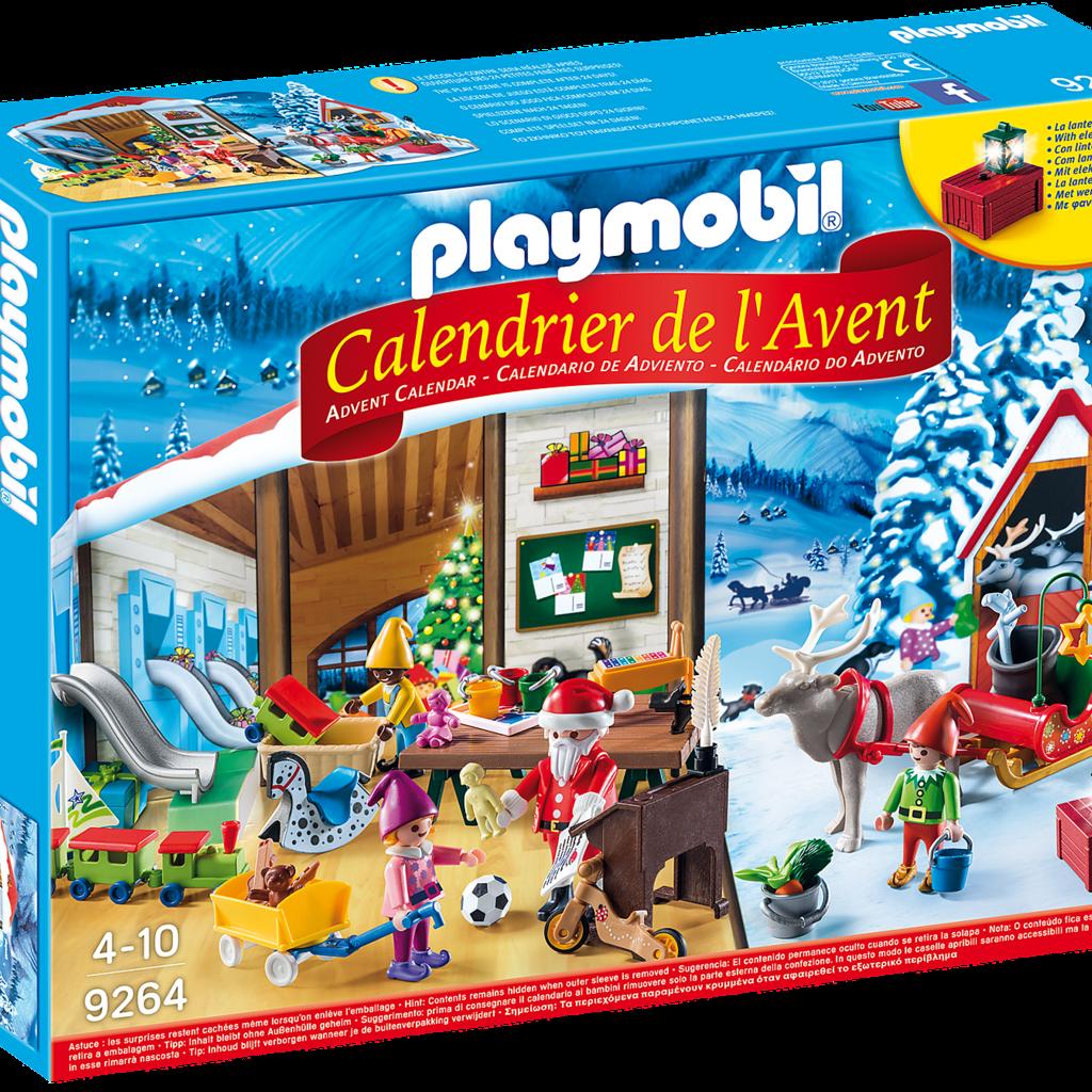 Calendrier De L Avent Spiderman.Playmobil 9264 Calendrier De L Avent Fabrique Du Pere Noel