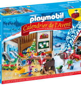 Playmobil 9264 Calendrier de l'Avent 'Fabrique du Père Noël'