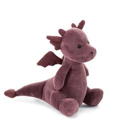 Jellycat Petit dragon violet
