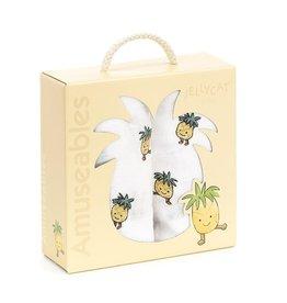 Jellycat Mousseline ananas amusante