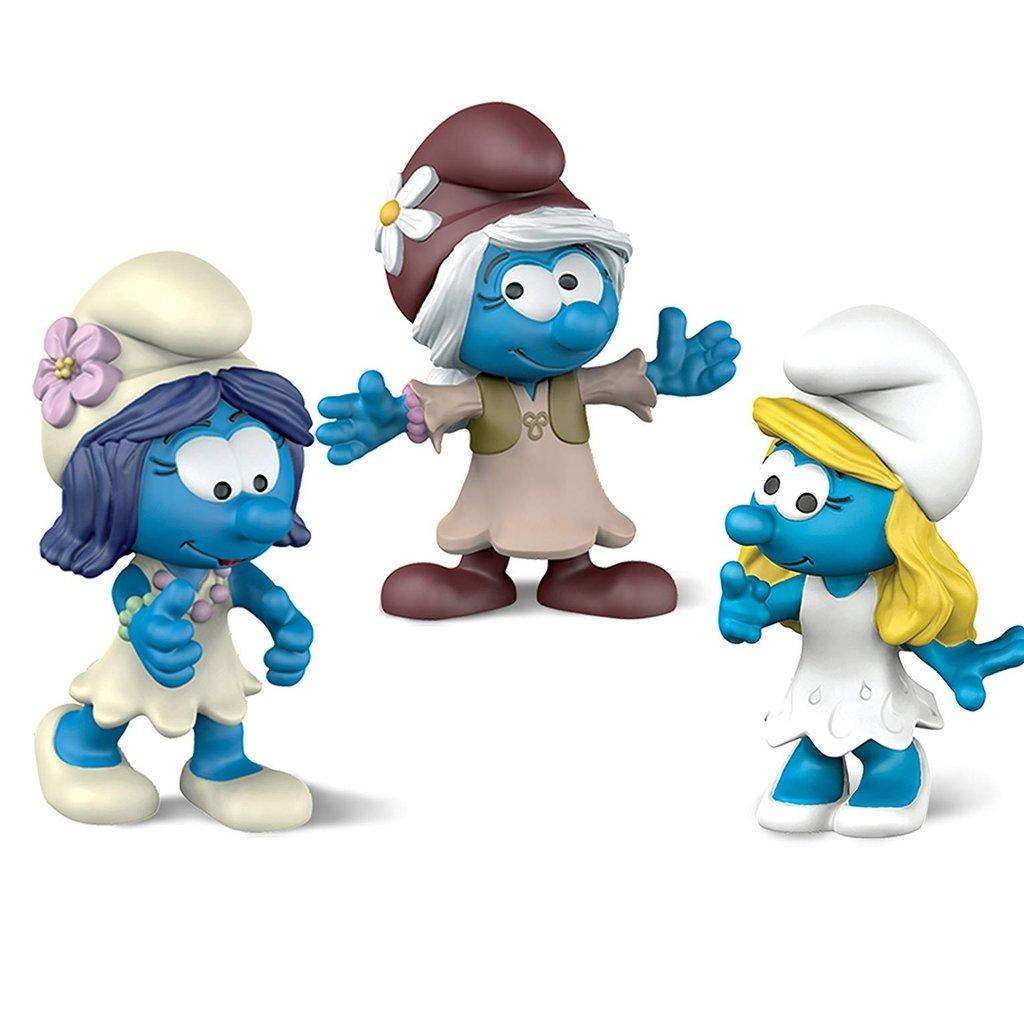 Schleich 20801 Ensemble de 3 figurines film Schtroumpfs filles