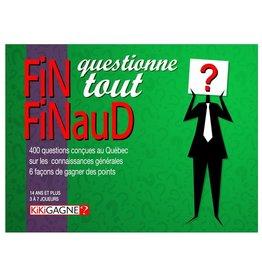 Kikigagne Fin Finaud questionne tout