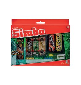 Simba toys 6 mini planches à roulettes