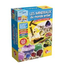 Lisciani Petit Génie Les minéraux du monde entier