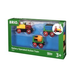 Brio Train de marchandises avec lumière