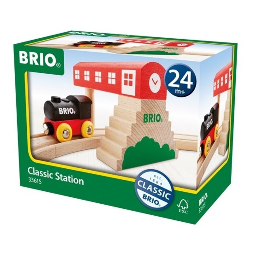 Brio Gare tradition et locomotive