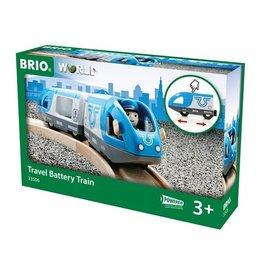 Brio Train de voyageurs à pile