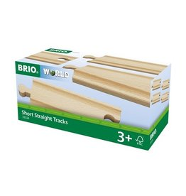 Brio Rails courts droits - 108 mm