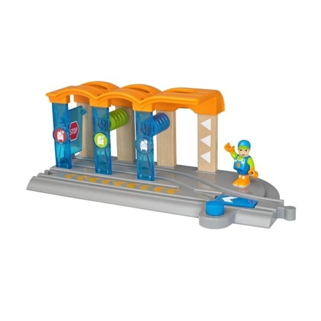 Brio Station de lavage pour locomotive intelligente