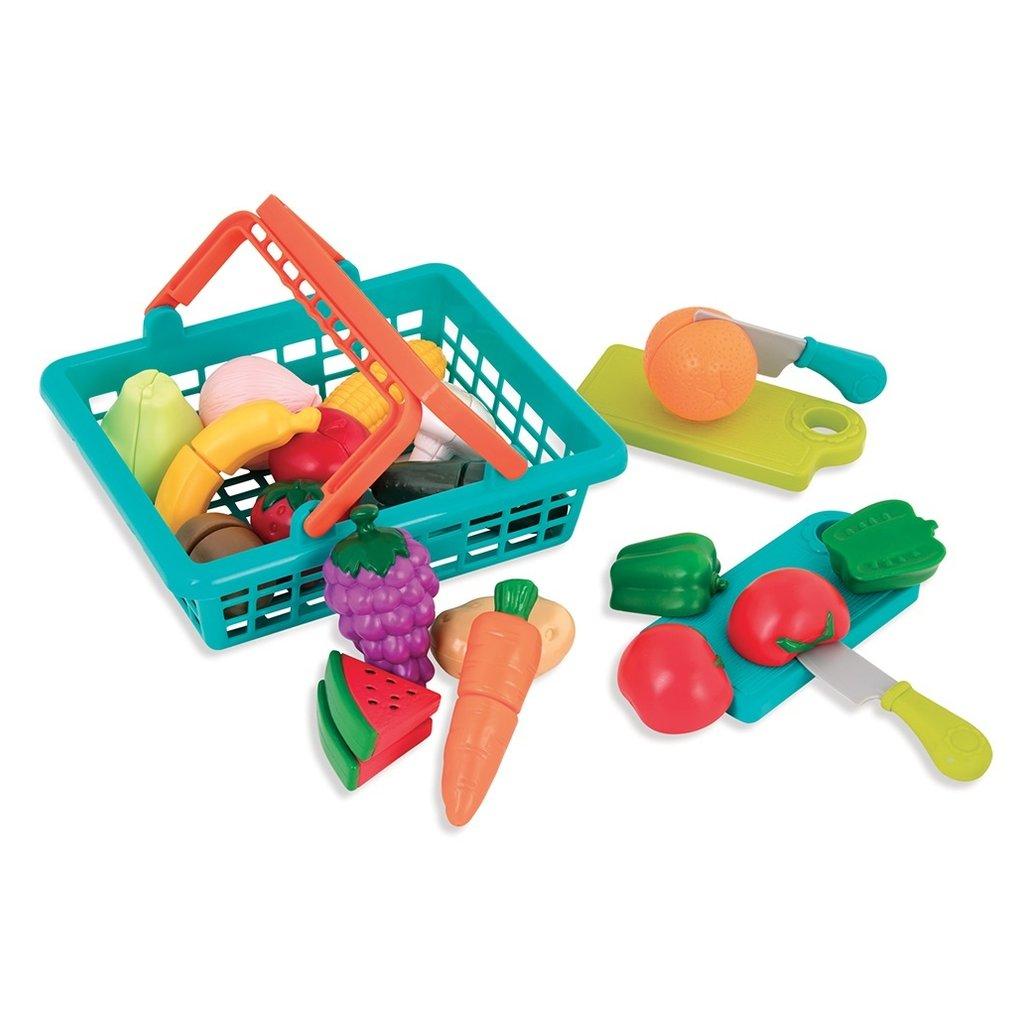 Battat Toys Panier d'aliments en velcro