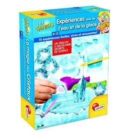 Lisciani Petit Génie Expérience avec eau et glace