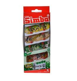 Simba toys Ensemble de 4 mini planches à roulettes