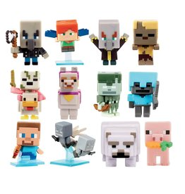 Mattel Minecraft Mini Figurine assorties
