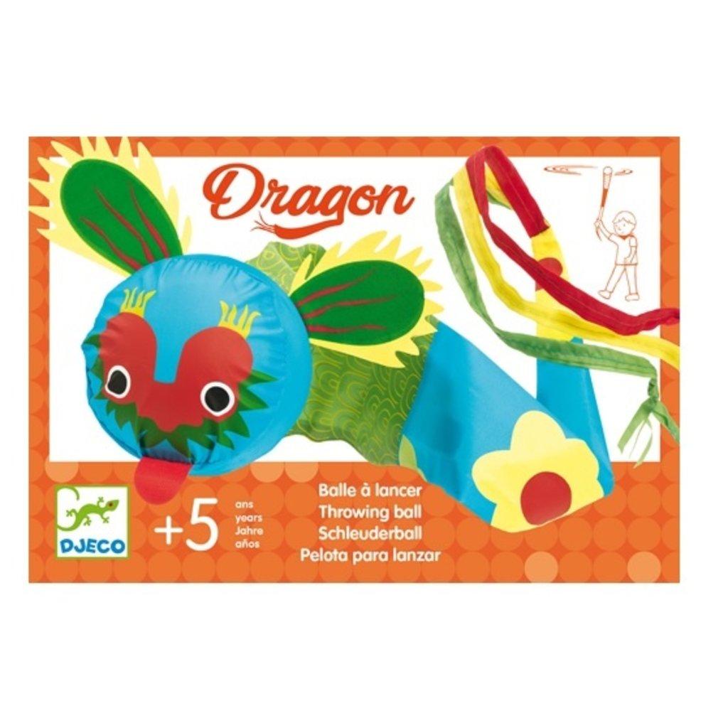 Djeco Balle à lancer Dragon