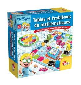 Lisciani Petit Génie Tables et problèmes de mathématiques