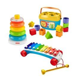Fisher Price Coffret trio jouets classiques