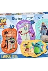 Ravensburger Histoire de jouet 4 Les jouets sont de retour 4 puzzles larges